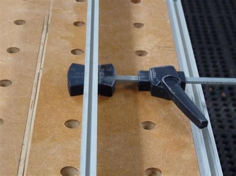 flattening  slab table top   festool router