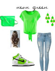 Neon Green Outfits Cute