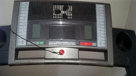 pro form perspective  lx treadmill maine treadmill repair