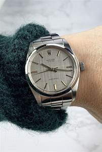 Rolex Stainless Steel 34mm Vintage Manual Wind Watch