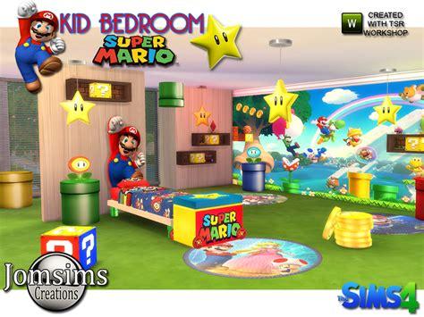 Jomsims Super Mario Kids Bedroom