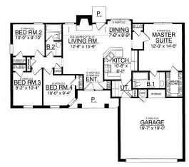 Simple Bedroom One Story House Plans Ideas by Simple 4 Bedroom House Plans Simple House Designs Simple