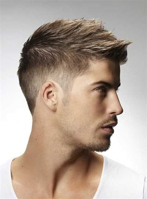Coupe de cheveux court pour homme couleur cheveux mi long | Coiffure institut