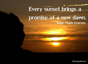 A Romantic Wint... Winter Sunsets Quotes
