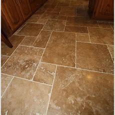 Travertine Tile Floor  Mediterranean  Wall And Floor