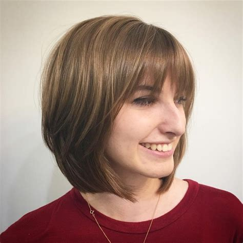 bob haircuts with bangs classic bob hairstyles for thick hair hairstyles 9557