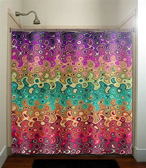 abstract multi color rainbow wave from tablishedworks on etsy
