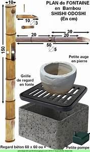 Fabriquer Une Fontaine Sans Pompe : faire une fontaine en bambou plan de montage d un shishi odoshi ~ Melissatoandfro.com Idées de Décoration