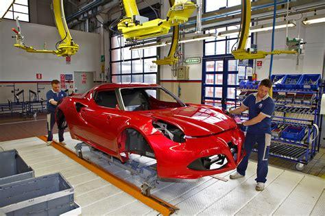 Alfa Romeo Italy by Alfa Romeo 4c Factory Seeing How The Sports Car