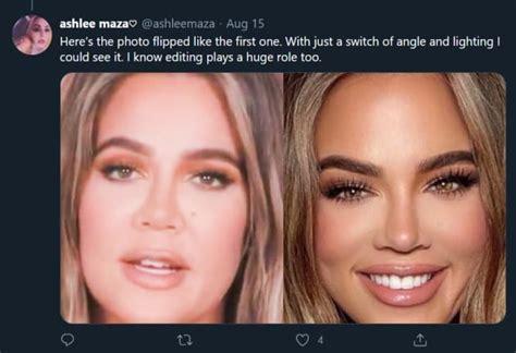 khloe kardashian accused  photoshopping face  recognition  hollywood gossip