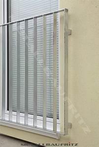 Geländer Französischer Balkon : balkon gel nder flachstahl kreative ideen f r ~ Michelbontemps.com Haus und Dekorationen