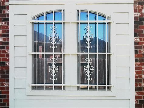 decorative security bars for windows stunning decorative curtain rods for bay windows advice