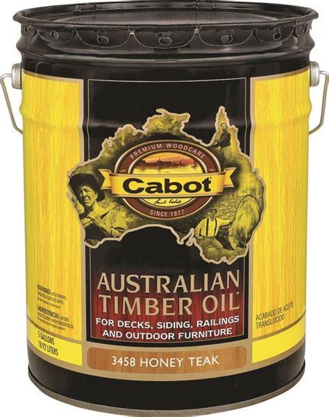 cabot  australian timber oil  gal  honey teak