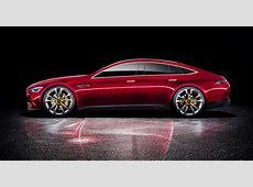 MercedesAMG GT fourdoor concept revealed photos