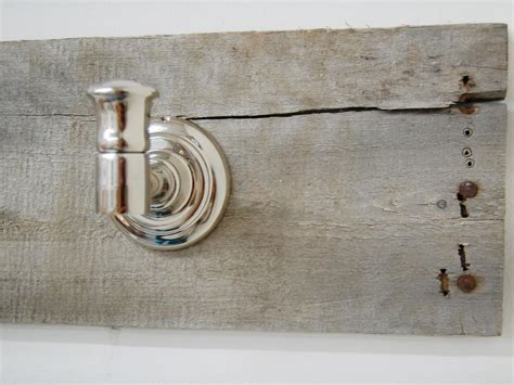 rustic towel bar hgtv