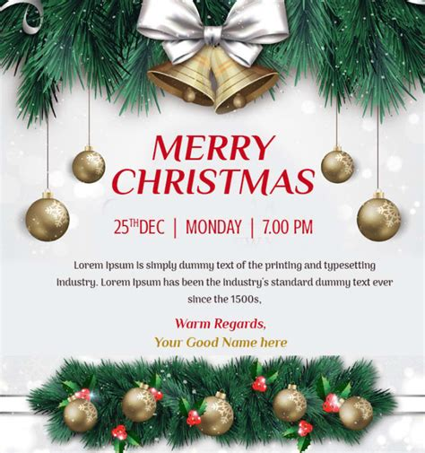 Design christmas invitation card by Rstechfreak