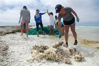 Coral Reefs Debris Help Marine Noaa Reef