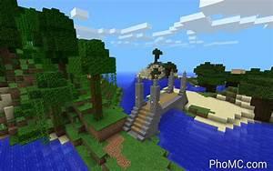 Minecraft Stone Jungle Bridge Photo Photo MineCraft