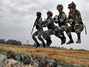 Indian army training photos
