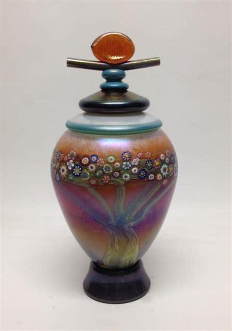 ceramic urn unique pottery artistic monet urn