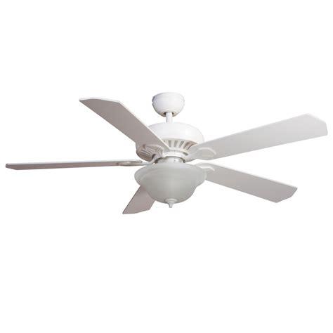 Harbor Ceiling Fan Remote Codes by Shop Harbor 52 In White Downrod Or Mount