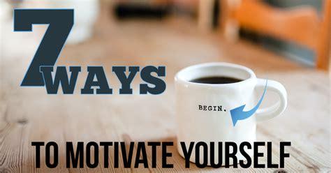 7 Ways To Motivate Yourself - IMProfits Coach