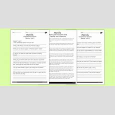 Free!  Differentiated Reading Comprehension Activity To Support Teaching On