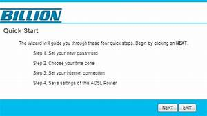 Billion Bipac 5200g  U2013 Quick Setup Guide  Adsl  Billion