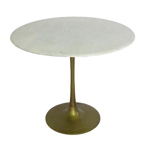 marble brass tulip table pieces