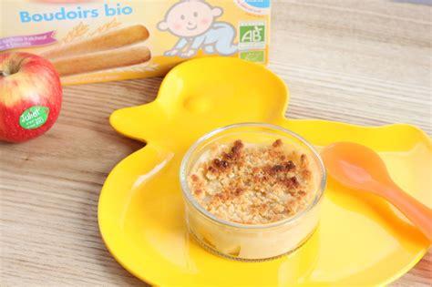 crumble pommes poires babybio recette 224 partir de 12 mois