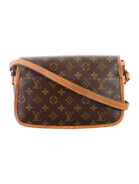 louis vuitton vintage monogram sologne bag handbags