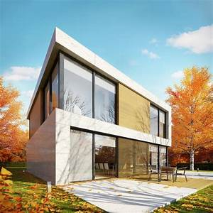 The Square House In Belgium  France By Starh Stanislavov