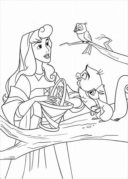 Coloring Sleeping Lesson