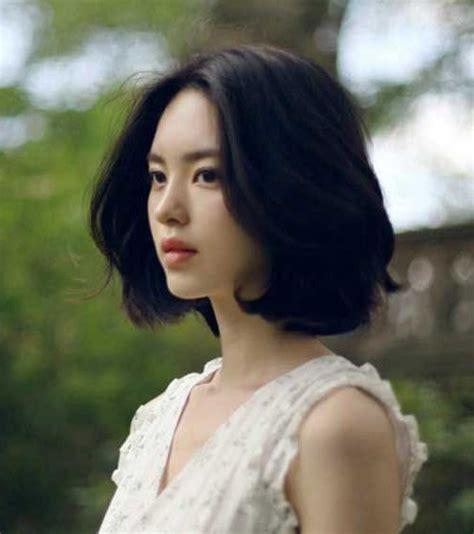 popular korean short hairstyles  beautiful girls