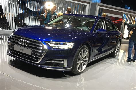 2019 Audi A8 Rolls In Ready To Drive Itself