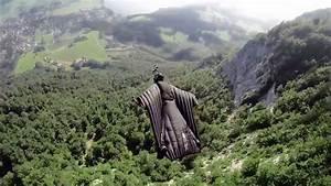 Barn Storming: Jeb Corliss wingsuit (Music: Jamie ...