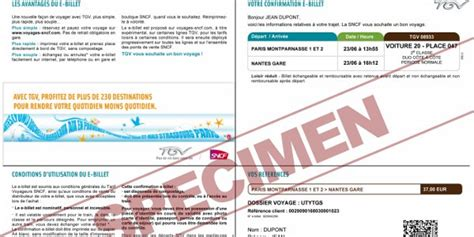 Condition Modification Billet Sncf by Nominatif Ou Non Nominatif Pourquoi Est Ce Si Compliqu 233