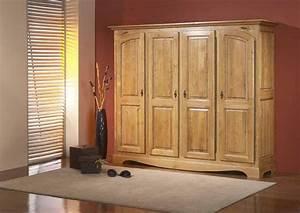 Armoire 4 Portes : acheter votre armoire 4 portes chez simeuble ~ Teatrodelosmanantiales.com Idées de Décoration