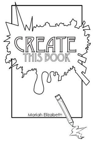 create  book  moriah elizabeth