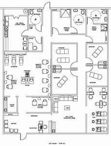 Salon & Spa Floor Plan Design Layout - 3105 Square Foot