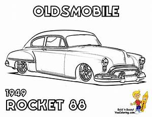 A Muscle Car Printout Of The 1949 Oldsmobile Rocket 88 at ...