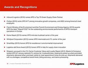 XPO Logistics, Inc 2016 Q3 - Results - Earnings Call ...