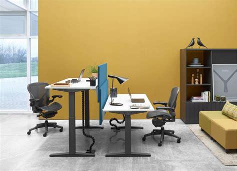 herman miller desks uk herman miller ratio sit stand desk office furniture scene