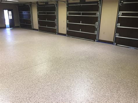 Epoxy Vinyl Chip Garage Floor  Springfield, MA   Diamond
