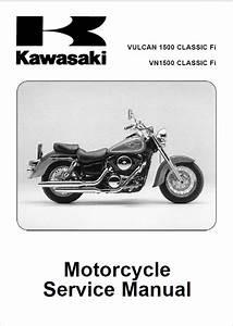 Kawasaki Vulcan 1500  Vn 1500 Classic Fi Motorcycle Pdf