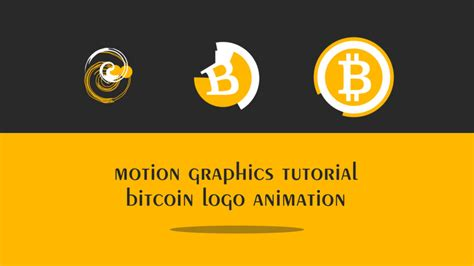 3d bitcoin modeling in blender 2.9. Motion graphics Bitcoin logo   EasyAfterEffects.net