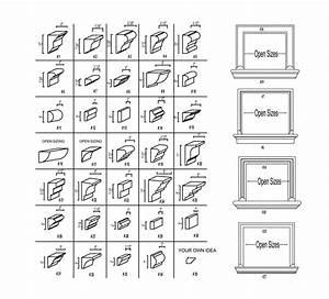 Image Gallery Molding Profiles