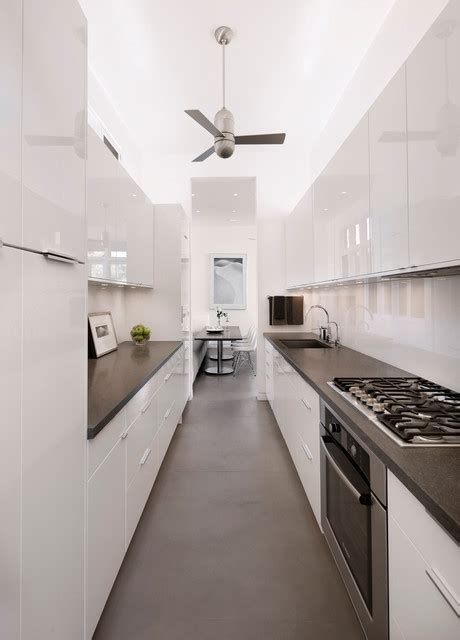 wallpaper designs for kitchens east carrillo galley kitchen contemporary kitchen 6972