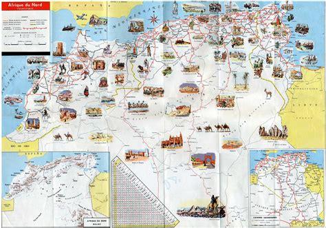 Carte Geographique Villes Algerie by Carte Touristique Alg 233 Rie Voyages Cartes