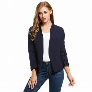 Sacos de mujer tipo blazer Chaquetas de moda para la temporada 2018